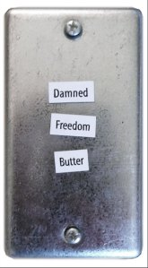 Damned Freedom Butter