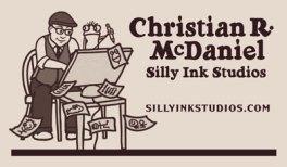 Christian McDaniel Business Card by Marla Goodman