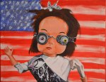 "Dollbot for President"" by original artist and Marla Goodman, 2014"