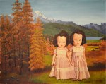 """The Twins"" by original artist and Marla Goodman, 2014"