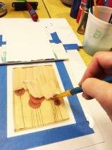 paint a background color