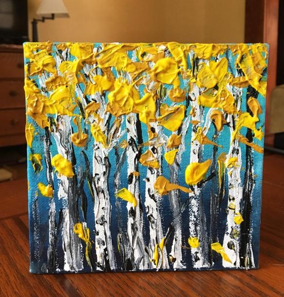 Aspen Tree Art Project Goodwerks Creative